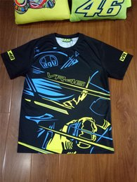 Wholesale Motor T Shirts - 2017 Valentino Rossi VR46 The Doctor MotoGP 46 Motor Sports T-shirt