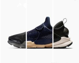 Wholesale Stones Hard - 1:1 High Quality Sock Dart Mid Stones Island Men's and Women's Casual Shoes Fashion Low Top Mens Shoes Free Shipping