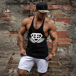 sexy muscle shirt Coupons - Wholesale- 2017 In The year Of The Vest Men Stringer Loa Bodybuilding Muscle Shirt Vest Cotton Sweatshirt Body Engineers Brand