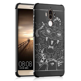 Wholesale Thin White Phone Brands - Phone Case For Huawei Mate 9 Case Anti-knock Armor Silicon Thin Protection Cover For Huawei Mate 9 Mate9 Capa Funda Capa