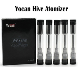 Wholesale Vaporizer Kits For Oil - Yocan Hive Atomizer plastic tube package Juice oil Atomizer and wax Atomizer for Yocan Hive Kit 2 in 1 vaporizer