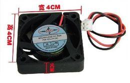 Wholesale Chassis Connector - Wholesale- 4010 40mm 4cm chassis fan, 2pin connector, Southbridge, Northbridge, graphics card fan