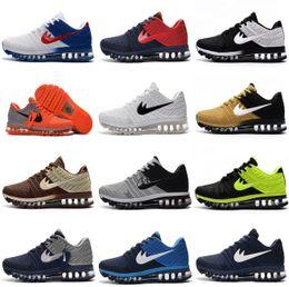 Wholesale Nude Point - Wholesale Maxs 2017 Men Running Shoes BENGAL Orange Grey Black Gold maxes 2017 KPU cushion Sneaker Mens ZOOM Athletic Shoes