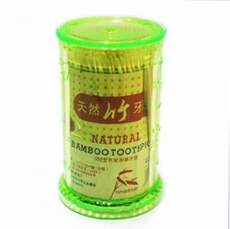 Wholesale Toothpick Shapes - Wholesale- CQ Special offer wholesale supply of bamboo shaped 300 pack bamboo toothpick