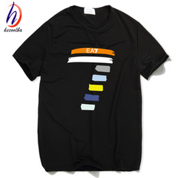 Wholesale Thin Wholesale Tee - Wholesale- 2017 Men and Women Compression EA T Shirt Thin Crossfit T-shirt Homme Hip Hop Swag Children Poleras Hombre Top Tees,HCT020