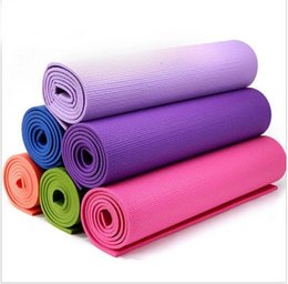 Wholesale High Beginner - 1730*610*6mm environmental protection mat lengthened PVC yoga mat  High quality easy carry many colors good experience yoga mat