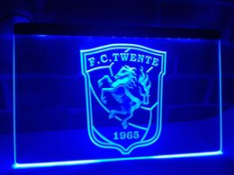 Wholesale Led Neon Commercial Sign - ZH1b- Dutch league FC TWENTE club LOGO LED Neon Sign