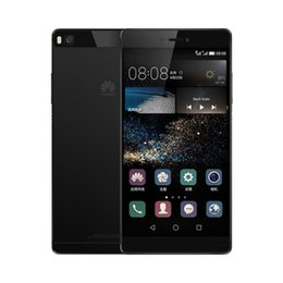 Wholesale Multi Sim Mobiles - Refurbished Original Huawei Ascend P8 5.2 inch Octa Core 3GB RAM 16GB   64GB ROM 13MP 1080P LTE 4G Dual SIM Android Mobile Cellphone DHL