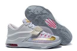 Wholesale Kd Low Cut Shoe - Aunt Pearl Kevin Durant Basketball Shoes VII EP KD 7 mens KD basketball Shoes Wholesale Price Athletic Sneakers Sports Shoes