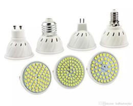 Wholesale E14 Plant - 110V 220V Bombillas LED Bulb SMD 2835 E27 E14 MR16 GU10 Lampara Spot cfl Grow Plant LED Bulb LLFA