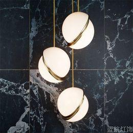 2019 decoraciones de cocina italiana Moderno creativo LED acrílico lámpara colgante lámpara de techo accesorio de luz nuevo envío gratis