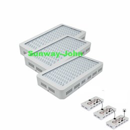 Wholesale Ir Chip Led - New Double chips LED grow light Lamp 1000W 1200W 9 Band Full Spectrum Red Blue White UV IR Hydroponic systems led grow lights