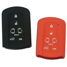 Wholesale Toyota Remote Case Cover - Silicone Cover case fob for TOYOTA Sienna Smart Remote Key 6 Button