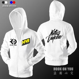 Wholesale dota hoodie - Wholesale-Navi players hoodie sweatshirt Men's Natus Vincere hoodies CS Dota 2 gamer sportswear zipper tracksuits Men hoody masculino