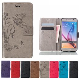 Wholesale Galaxy S4 Case Hot Sell - 2017 Hot Selling Leather Wallet Case For Samsung Galaxy S7 Edge Plus S4 S3 S5 S6 Edge G360 Core Grand Prime G530 Case