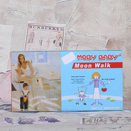 Wholesale Hk Baby - MOBY BABY MOON WALK Baby Harness Safety Assistant Walker Harness Moon Walk Kids Toddler Space Hot Sell 6 hk J