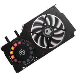 Wholesale New Amd - Wholesale- ID-COOLING Water Block,High Pressure Pump For Gaming VGA Card GPU,Unique Comet-tail LED Lighting,For Nvidia & ATI Brand New