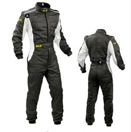 Wholesale Exercise Clothing - 2017 New Arrival OMP Karting Suit Car Motorcycle Racing Club Exercise Clothing Overalls Stig Suit Two Layer Waterproof