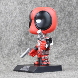 Wholesale Ems Toys Kids - Funko Pop X-Men Deadpool Figure Cosplay Anime Action Figure Juguetes Model Hot Kids Toys Best Gift free shipping EMS