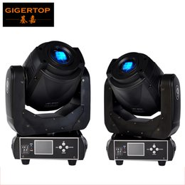 Wholesale Channel Display - TIPTOP 2XLOT 90W LED Moving Head Spot Stage Lighting 6 15 DMX Channel Hi-Quality Hot Sales 90W Prism Led Moving Light New Digital Display
