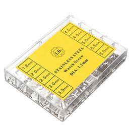 Gros- 700Pcs 1.6-6.0mm Kit de vis en acier inoxydable pour les outils de réparation de montre de lunettes micro ? partir de fabricateur