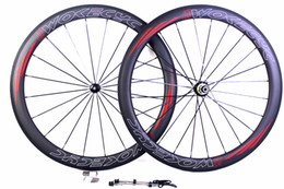 Wholesale Carbon Road Wheels Straight Pull - Powerway R36 straight pull hubs carbon bicycle wheels 50mm clincher tubular road cycling bike wheelset with basalt brake surface