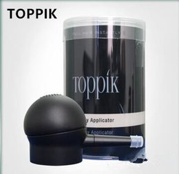 Wholesale New Hair Styling Tools - new toppik hair spray applicator suitable hair building fiber bottle Hair Styling Tools effective loss people