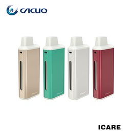 Wholesale Ecig Batteries Color - Authentic Eleaf iCare Kit Starter Kit 1.8ml Ecig Internal Tank With 650mah Battery Three Color LEDS IC 1.1ohm Coil Head