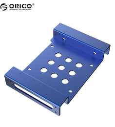 Wholesale Mounting Ssd - Wholesale- ORICO AC52535-1S 5.25 inch to 2.5 or 3.5 All-in-1 Hard Drive HDD SSD Converter Adapter Mounting Bracket-Blue