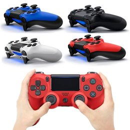 Wholesale Usb Controllers For Pc - Wired Vibrate Game Controller Handle Dual Double Shock for PS4 and PC