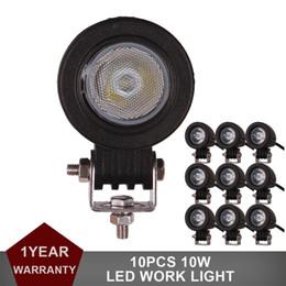10 stücke Mini 10 Watt LED Arbeitslicht Offroad Auto Lkw ATV Motorrad Anhänger Fahrrad Nebelscheinwerfer Scheinwerfer Blinker Seitenmarkierungsleuchte von Fabrikanten