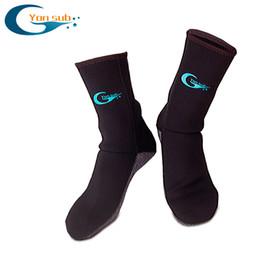 Wholesale Warmer Stick - Wholesale- 3mm Neoprene Swim Socks,Diving socks with the Magic Stick for Winter Swimming,Warm,Anti-slip