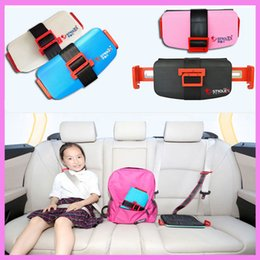 Wholesale Child Booster Seat Harness - Strolex Mini Folding Baby Kids Child Car Safety Seats Portable Travel Pocket Booster Cushion Stroller Safety Harness Seat