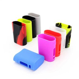 Wholesale Electronic Cigarettes Rubber - Silicone Case For Istick Pico 75W Electronic Cigarette Carry Cases Pouch Silicon Cases E Cig Protective Rubber Sleeve Silica Gel Skin Bag