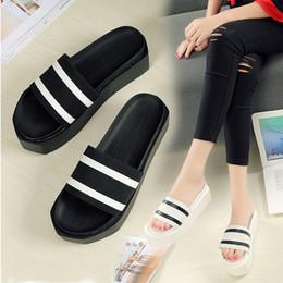 7b413885470e62 ladies eva high heel flip flops Coupons - Hemp slipper gingham summer  slides high hees women
