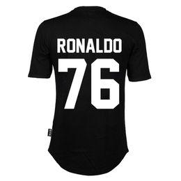 T-shirt à manches courtes pour hommes de haute qualité NEW BALR t-shirt BALRED vêtements à fond rond t-shirt à long dos football star 76 RONALDO ? partir de fabricateur