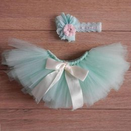 Wholesale Newborn Crochet Baby Dresses - 2PCS Set Newborn Baby Costume Cute tutu Dress Photo Photography Prop Girls Boys Outfits Fotografia Clothes and Accessories