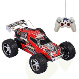 Wholesale Toy Battery Car Remote - Remote Control Car,KAWO 1:32 Scale High Speed Off-road ABC Channel 5 Speed Transmission 6 Position Control Electric Monster Trugg Toys