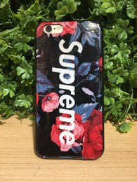Wholesale Iphone 5s Colors Rhinestone Case - For iPhone 7 6s plus 5s Diamond Crystal Phone Back Cover Soft TPU Phone Case flowers series IMD technologe 8 colors