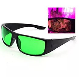 Wholesale Led Visual - LED Indoor Growing Hydroponics Grow Light Room Glasses for Intense LED lighting Visual Eye Protection free shipping