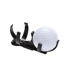 Wholesale Golf Ball Pick Up Wholesale - Wholesale- Practical Black Two Held Hold Golf Ball Retriever Pick up Training Aids Golf Accessories Wholesale 1 Pc 2016