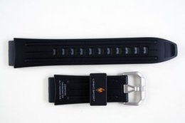 Wholesale Rubber Paws - Wholesale- New original Black Rubber waterproof Strap for PAG-80,PAW-1100,PRG-80,PAG80-1V,PAW1100-1V,PRG-80 Watch band