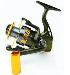 2019 herramientas de hilado Alta calidad TS1000-7000 10BB 5.5: 1 carretes de pesca de hilado de metal accesorios de herramientas de pesca Drag Sea Boat Spinning Fishing Reel herramientas de hilado baratos