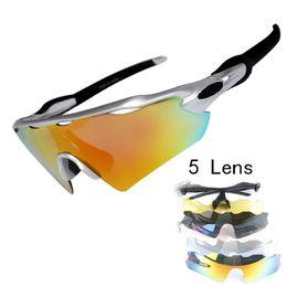 aead4adb0f0 mountain bike sunglasses lenses 2019 - 5 Lens UV400 Mens Polarized Cycling  Sun Glasses Sports Bicycle