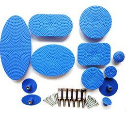 Wholesale Pdr Paintless Dent Glue - 12 Pcs PDR Paintless Dent Repair Tabs PDR Glue Pulling Tabs PDR Tabs