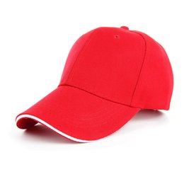 Wholesale Trucker Hats For Cheap - Caps Solid Working Baseball Cap Trucker Snapback Hat Fitted Cheap Cap Classic Outdoor Sunscreen Golf Hats For Lady Men