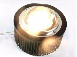 Wholesale Led Holder Lens - DIY CREE Cob led grow light , CXB3590+Ideal Holder 50-2303CR+Pre-drilled heatsink D163mmxH70mm(for 75-85W)+D100mm glass lenses