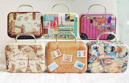 Wholesale Dollhouse 12 - 1 6 Barbie Blythe Size Doll Dollhouse Miniature Toy Trunk Box Suitcase Luggage Traveling Case