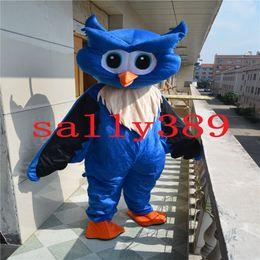 Wholesale Fishing Mascots - 2017 blue eagle mascot blue orange fish high-quality cartoon clothing adult size masquerade carnival parade