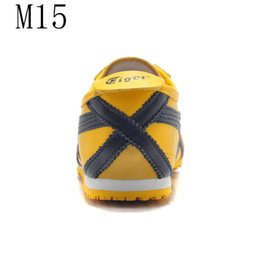 Wholesale Striped Band - Hot Sale New Mexico 66 Shoes Casual Tiger Men And Women Leather Couple Lace Sneakers Bruce Lee Shoes 66 Colors Size 36-45 Free Shipping.